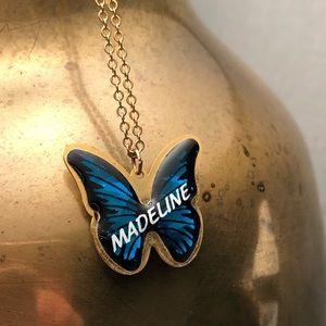 "Jewelry - R E V E R S I B L E ""Madeline"" Butterfly Necklace!"